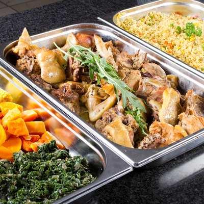 мясные блюда и гарниры