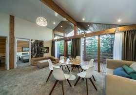 Номер Новый коттедж с двумя спальнями, гостиной-студио с кухней и террасой |