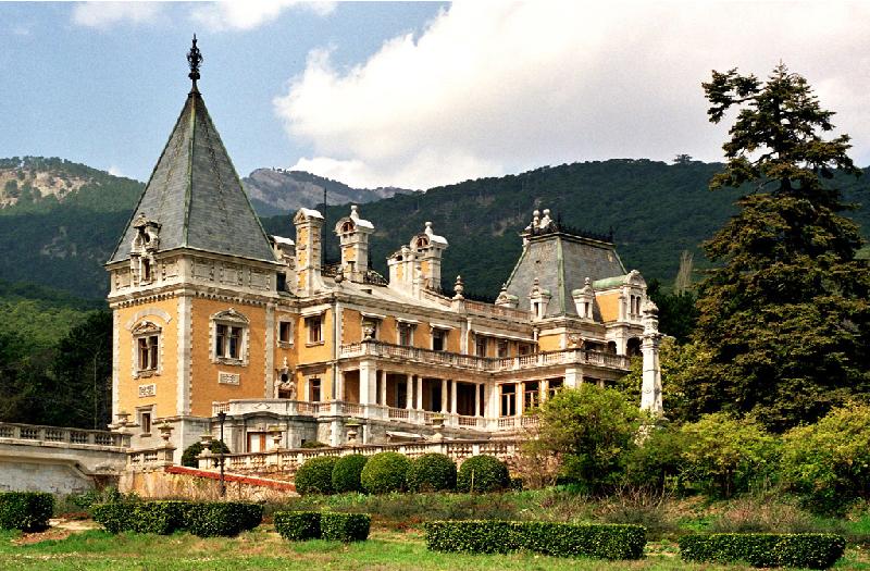 Массандровский дворец в Алуште