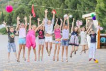 лучший детский отдых предлагает пансионат Береговой, Алушта