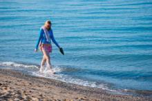 Бархатный сезон на берегу моря в Крыму